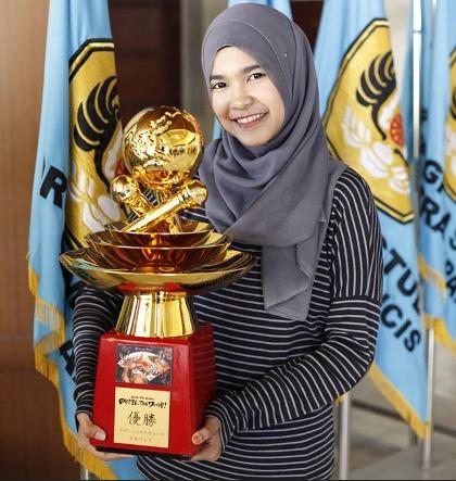 ajang pencarian bakat - Fatimah Zahratunnisa