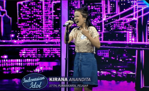 Sosok Kirana Putri Anandita Peserta Penyanyi Indonesian Idol 2021 yang digadang masuk ke babak spektakuler