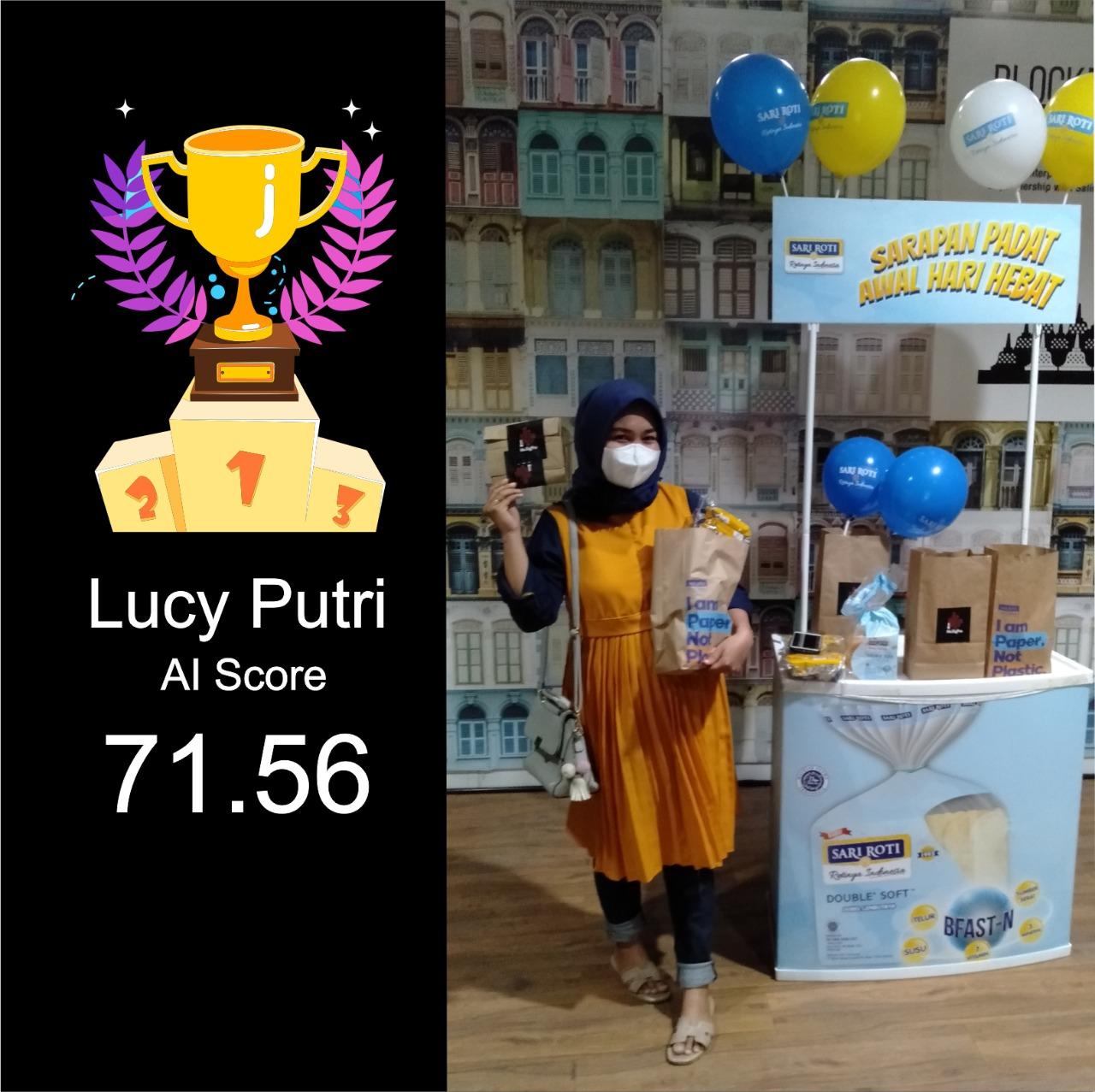 Pemenang lomba karaoke online bersama sariroti