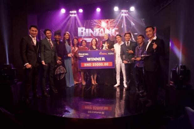 Pemenang Juara 1, Mimi Wahab mendapatkan grandprize sebesar BND 5000