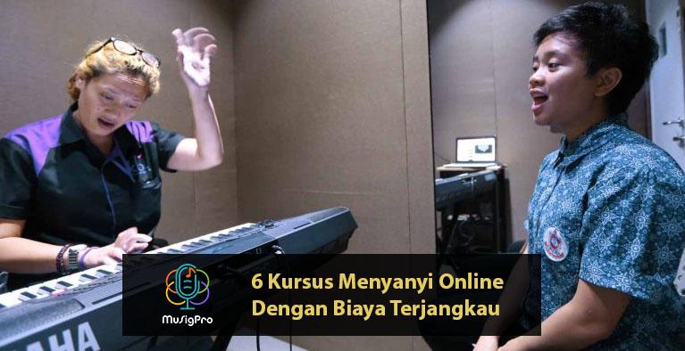 6 Kursus Menyanyi Online Dengan Biaya Terjangkau