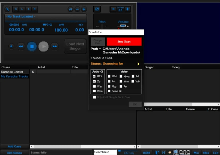 aplikasi Aria karaoke Pro