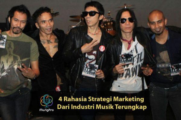 strategi marketing dari industri musik