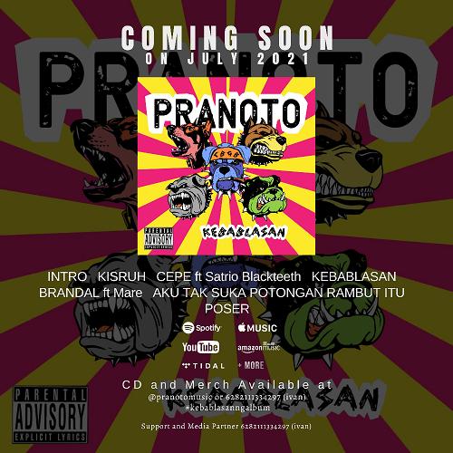 MuSigPro Pranoto Band Punk Baru dari Jakarta